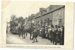 RUILLE Le GRAVELAIS.  Fête De Jeanne D'Arc.  6 Juin 1913.  Char De Jeanne D'Arc Bergère. - Other Municipalities