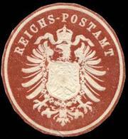 Berlin: Reichs - Postamt Siegelmarke - Cinderellas