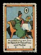 Berlin: Im Reich Der Hausfrau Und Mutter Reklamemarke - Cinderellas