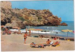 Torremolinos - La Carihuela, Acantilados De Su Playa - (Costa Del Sol, Espana) - Malaga