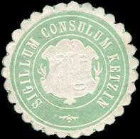 Ketzin: Sigillum Consulum Ketzin Siegelmarke - Cinderellas