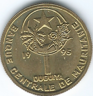 Mauritania - 1995 - 1 Ouguiya - KM6 - Mauritania