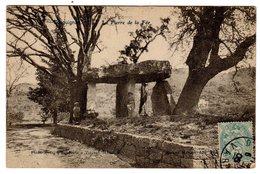 CPA Dolmen Druidique La Pierre De La Fée Draguignan 83 Var éditeur Baudoin Vincent à Marseille N°17 - Dolmen & Menhirs