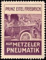 München: Prinz Eitel Friedrich Reklamemarke - Cinderellas