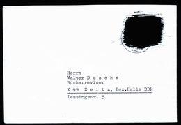 A6003) Bund Postkrief Brief Waldsassen Mi.479 PKIb Schwarze Lackfarbe - Briefe U. Dokumente