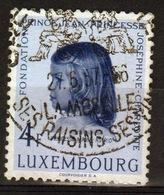 Luxembourg 1957 Single 4f Commemorative Stamp Celebrating Princess Charlotte. - Luxembourg