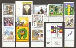 Autriche 2000 - Petit Lot De 13 MNH - - Timbres