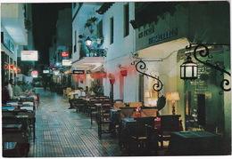 Torremolinos - Calle Del Cauce; De Noche - (Costa Del Sol, Espana) - Malaga