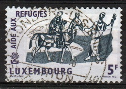 Luxembourg 1960 Single 5f Commemorative Stamp From The World Refugee Year Set. - Luxembourg