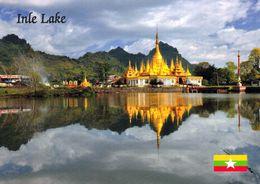 1 AK Myanmar (Burma) * Eine Pagode Am Inle Lake * - Myanmar (Burma)