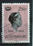Luxembourg 1959 Single 2f 50c Commemorative Stamp To Celebrate The 40th Year Of The Accession. - Luxembourg