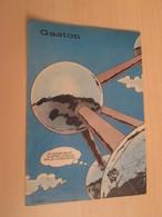SPI19  JOLIE COUVERTURE EN COULEURS ANNEES 50/60 SPIROU : FRANQUIN GAG GASTON LAGAFFE PLEINE PAGE - Gaston