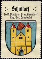 Bremen: Schüttorf Reklamemarke - Erinnophilie