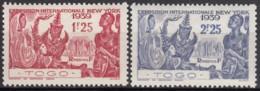 N° 175 Et N° 176 - X - ( C 1801 ) - Ongebruikt