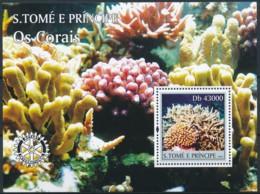 NB - [401403]Sao Tomé-et-Principe 2004 - Les Coraux, Rotary International - Rotary, Lions Club