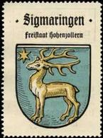 Bremen: Sigmaringen Reklamemarke - Cinderellas