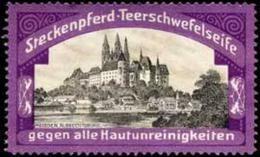 Radebeul: Albrechtsburg - Meissen Reklamemarke - Erinofilia