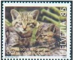 Helvetia Suisse MNH Chat . - Hauskatzen