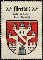 Bremen: Meerane Reklamemarke - Cinderellas