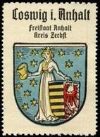 Bremen: Coswig Reklamemarke - Cinderellas