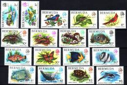 ( 1453 ) Bermuda - Fauna - Current Serie - Birds - Fishes - Marine Life -Reptiles - Buterflie . - Stamps