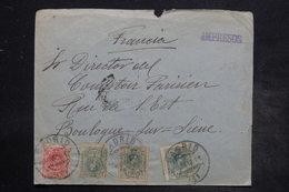 ESPAGNE - Enveloppe De Madrid Pour La France En 1912 , Affranchissement Plaisant - L 26554 - 1889-1931 Royaume: Alphonse XIII
