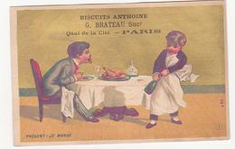 Biscuits Anthoine - G. Brateau - Présent, Je Mange - Otros