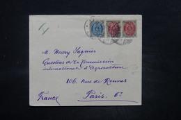 DANEMARK - Enveloppe Pour Paris En 1901 , Affranchissement Plaisant - L 26558 - Lettere