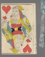 Ancien Jeu De Cartes à Jouer Ancien  DAME COEUR    2 - Cartes à Jouer Classiques