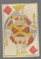 Ancien Jeu De Cartes à Jouer Ancien  ROI CARREAU   2 - Playing Cards (classic)