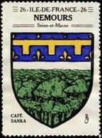 Nemours Reklamemarke - Erinnofilia