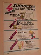 SPI19 SPIROU ANNEES 50/60 1 PAGE : PUBLICITE ANNONCE NOUVELLES BD MARSUPILAMI FRANQUIN - Marsupilami