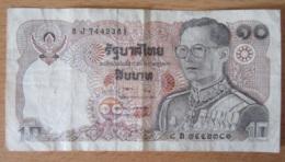 Thailande - Billet 10 Baht Type 1978 - 1981 - Bon état - Thaïlande