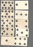 Ancien Jeu De Cartes à Jouer Ancien  SERIE 10 CARTES A Trefle    2 - Cartes à Jouer Classiques