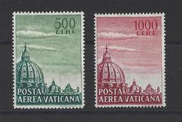 VATICAN  YT  PA  N° 33/34  Neuf **  1958 - Poste Aérienne