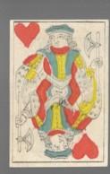 Ancien Jeu De Cartes à Jouer Ancien  VALET COEUR    2 - Cartes à Jouer Classiques