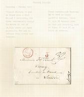 GUERNSEY MARITIME ST MALO FRANCE VEVEY SWITZERLAND FLAT 3 1845 - Guernsey