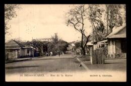 MADAGASCAR - DIEGO-SUAREZ - RUE DE LA MARNE - Madagascar