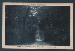 AIX-les-BAINS - Route D'Aix à Trésserves (Sous-bois) - Aix Les Bains