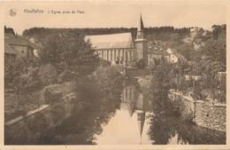 CPA - Belgique - Houffalize - L'Eglise Prise Du Pont - Houffalize