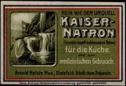 Bielefeld: Kaiser-Natron Reklamemarke - Cinderellas