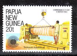 Papua  N. Guinea  - 1983. Assistenza Tecnica. Technical Assistance. MNH - Professioni