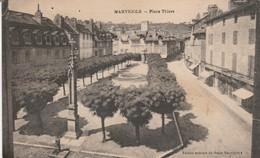 Lozère : MARVEJOLS : Place Thiers - Marvejols