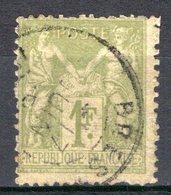 FRANCE - 1876 - YT N° 82 - Oblitéré - Sage  N/U - 1876-1878 Sage (Type I)