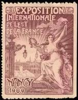 Nancy: Exposition Internationale De Lest De La France Reklamemarke - Cinderellas