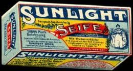 Mannheim: Sunlight Seife Reklamemarke - Erinnofilia
