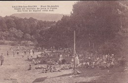 [39] Jura > Salins Les Bains  Fort St André Terrain De Jeux A L'orée Du Bois - Francia