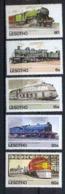 LesothoN° 484 / 488 Train Trains LOCOMOTIVES - Trains