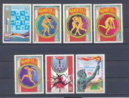 Guinée équatoriale Guinea 125 N°680/86 Jeux Olympiques Olympic Games Montréal 1976 Serie Complète MNH ** - Ete 1976: Montréal