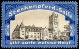 Tetschen/Elbe: Kgl. Schloss Posen Reklamemarke - Cinderellas